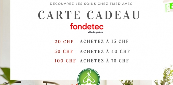 Gift card from Fondetec
